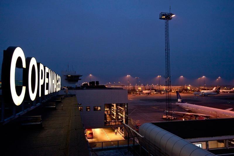 Københavns Lufthavn Copenhagen skilt