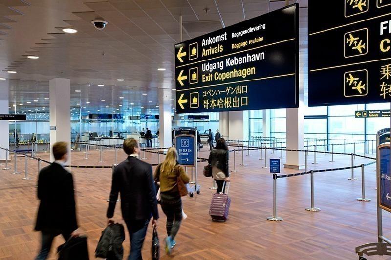 Ankomst i Københavns Lufthavn