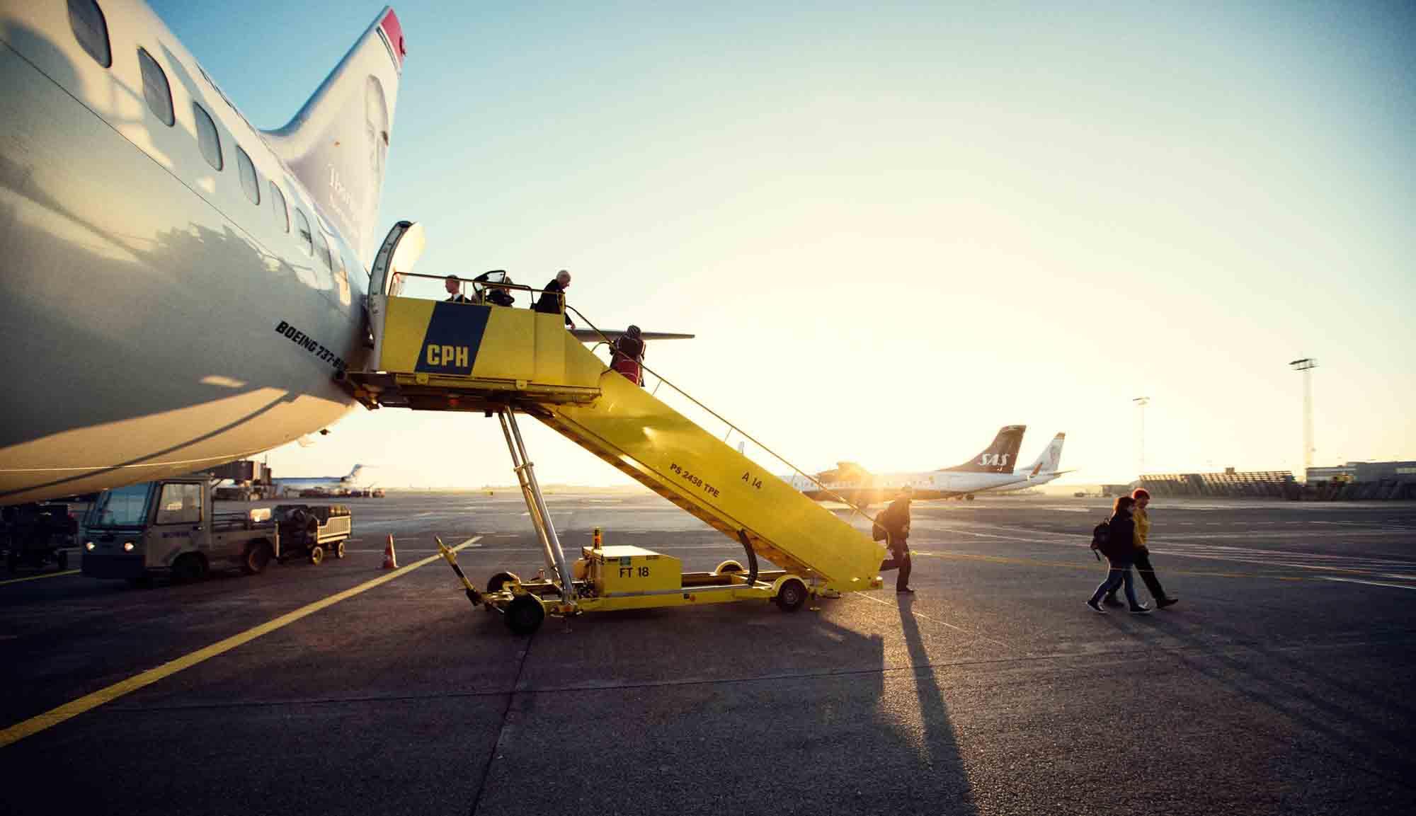 flyankomst cph lufthavn