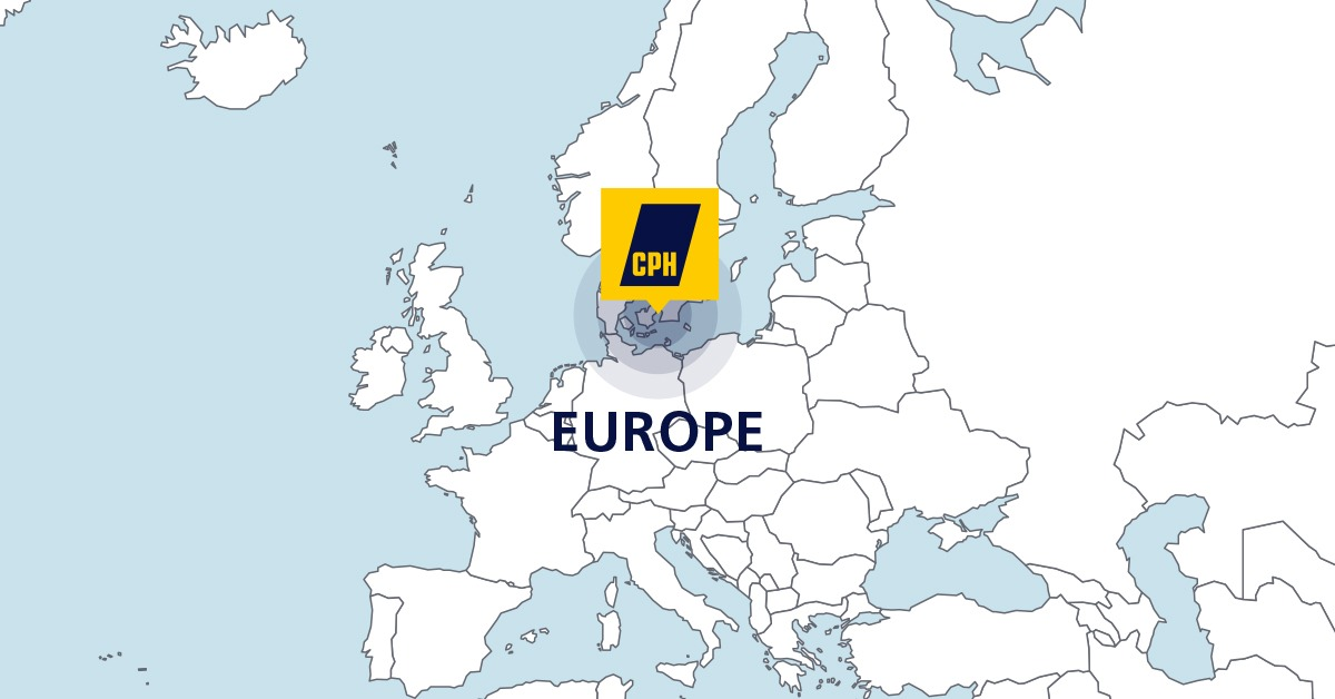Want more of Europe? CPH has got it!