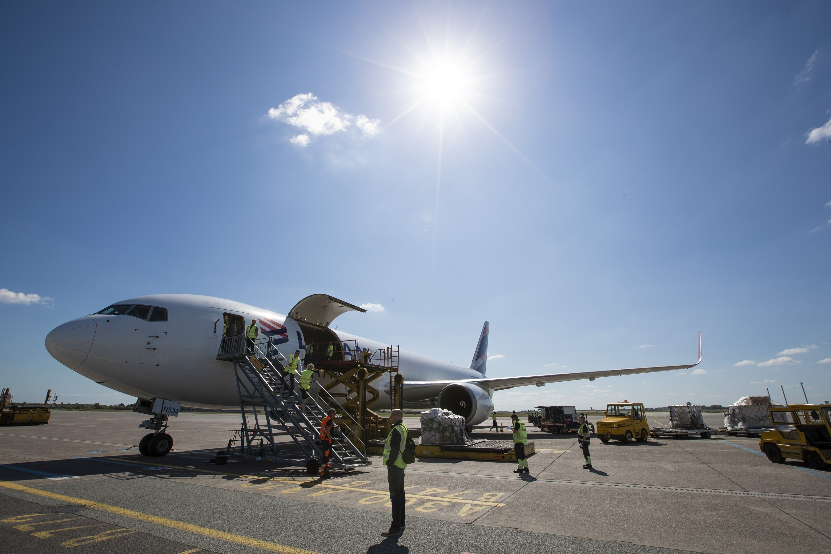 New cargo route links Copenhagen and South America